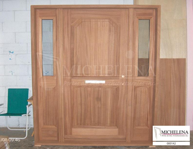 000142 porte bois exterieure exterior wood door michelena. Black Bedroom Furniture Sets. Home Design Ideas