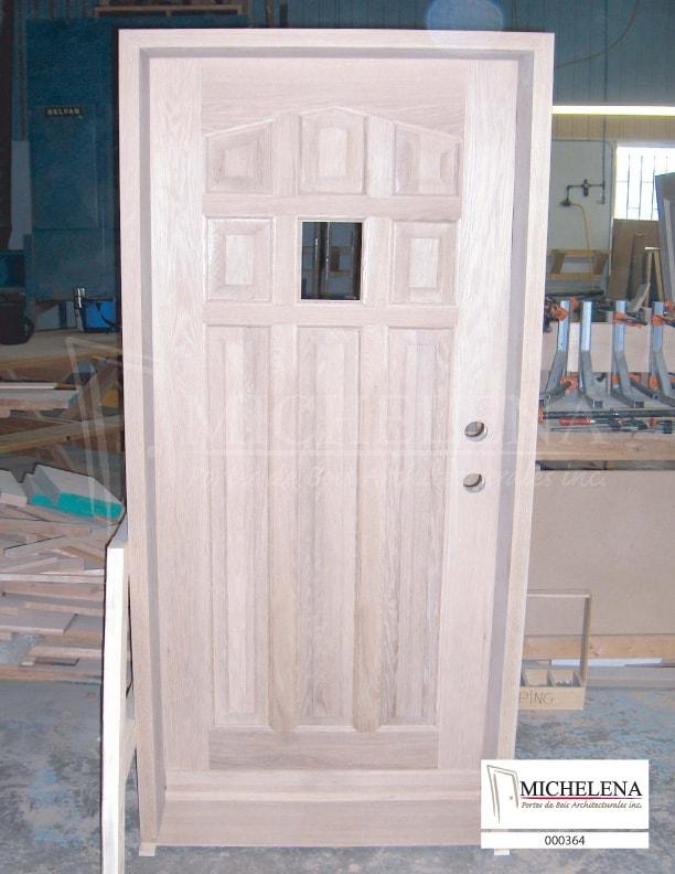 000364 porte bois exterieure exterior wood door michelena. Black Bedroom Furniture Sets. Home Design Ideas