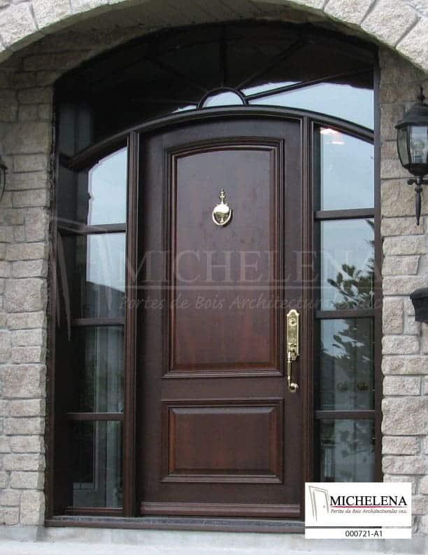 000721 a1 porte bois exterieure exterior wood door michelena. Black Bedroom Furniture Sets. Home Design Ideas
