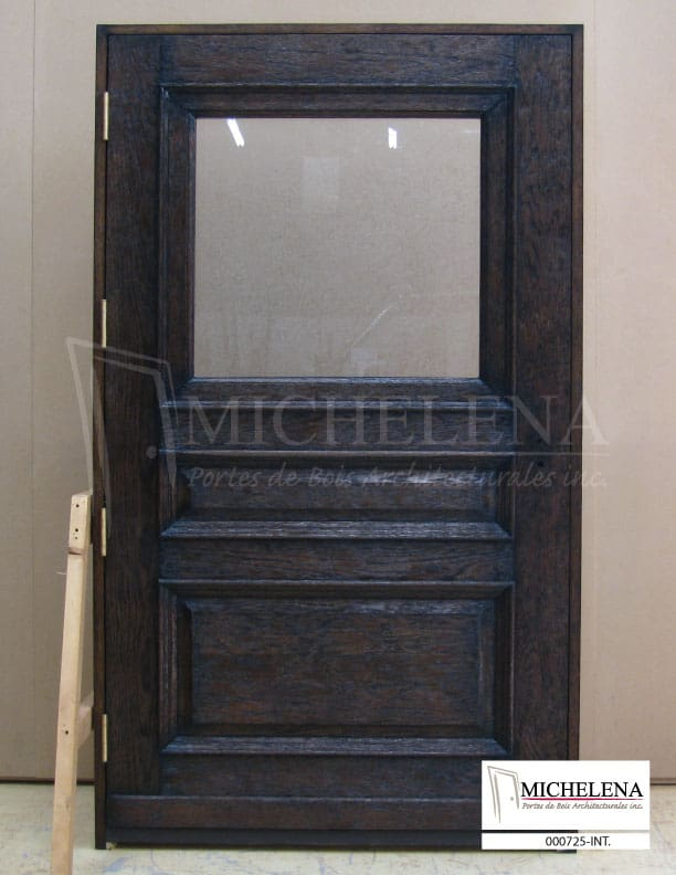 000725 int porte cellier bois wine cellar wood door for Porte cellier