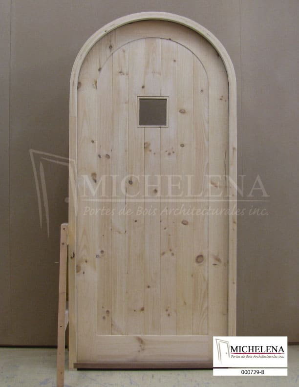 000729 b porte cellier bois wine cellar wood door michelena for Porte cellier