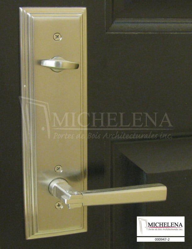 000947 2 porte bois exterieure exterior wood door michelena for Porte exterieure bois