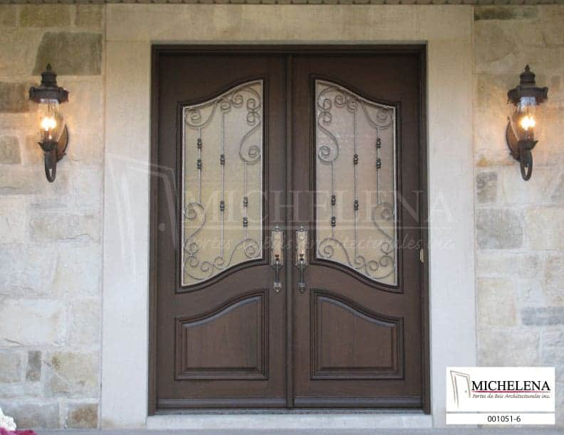 001051 6 porte bois exterieure exterior wood door michelena. Black Bedroom Furniture Sets. Home Design Ideas