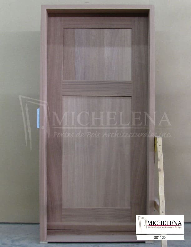001129 porte bois exterieure exterior wood door michelena. Black Bedroom Furniture Sets. Home Design Ideas
