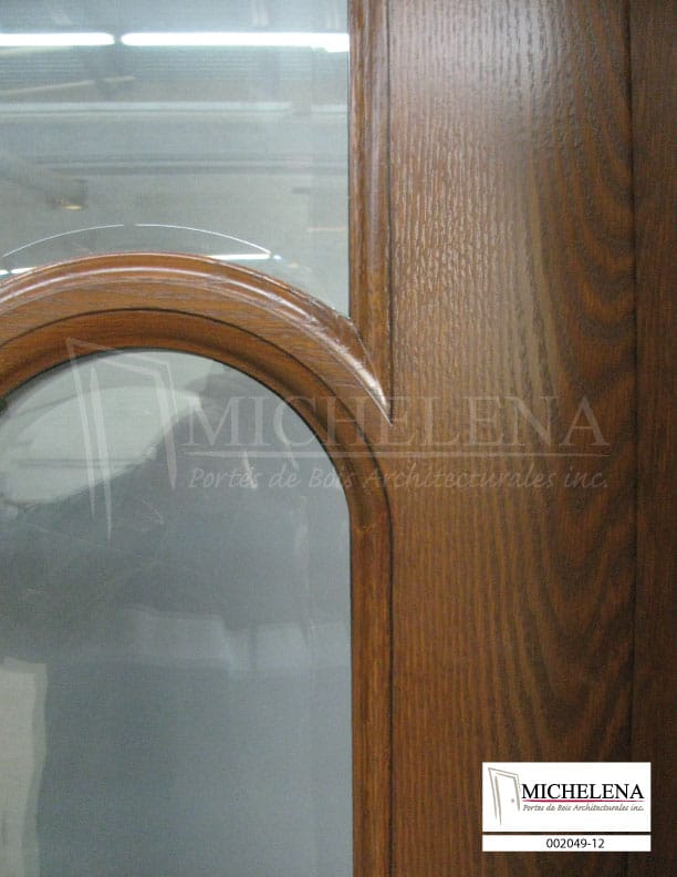002049 12 porte bois exterieure exterior wood door michelena for Porte exterieure bois