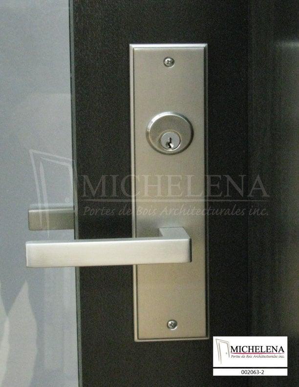 002063 2 porte bois exterieure exterior wood door michelena for Porte de service exterieure bois