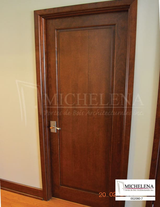 002080 7 Porte Bois Interieure Interior Wood Door