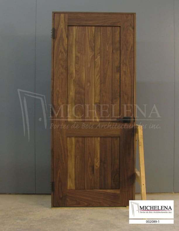 002089 1 porte bois interieure interior wood door michelena. Black Bedroom Furniture Sets. Home Design Ideas
