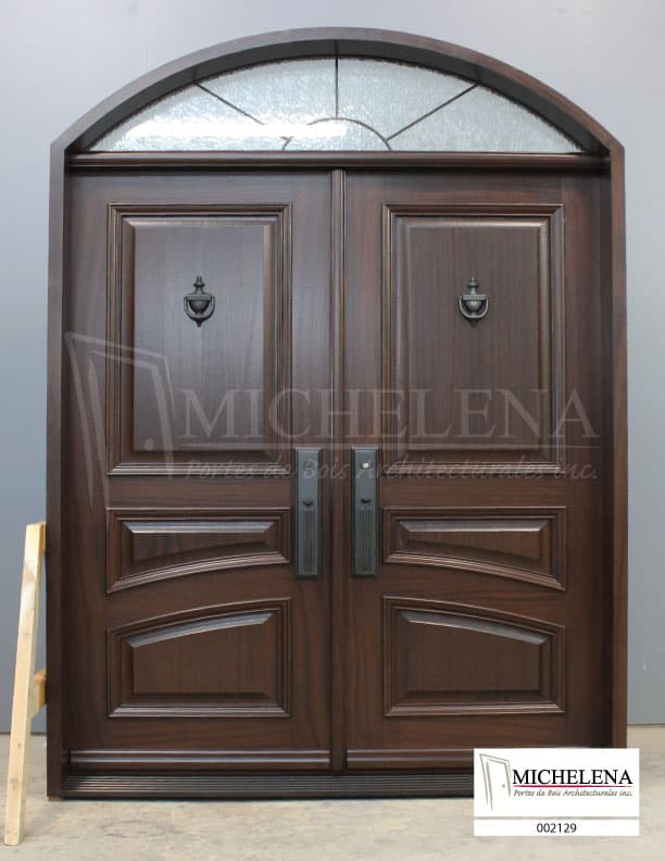 002129-Porte-Bois-Exterieure-Exterior-Wood-Door