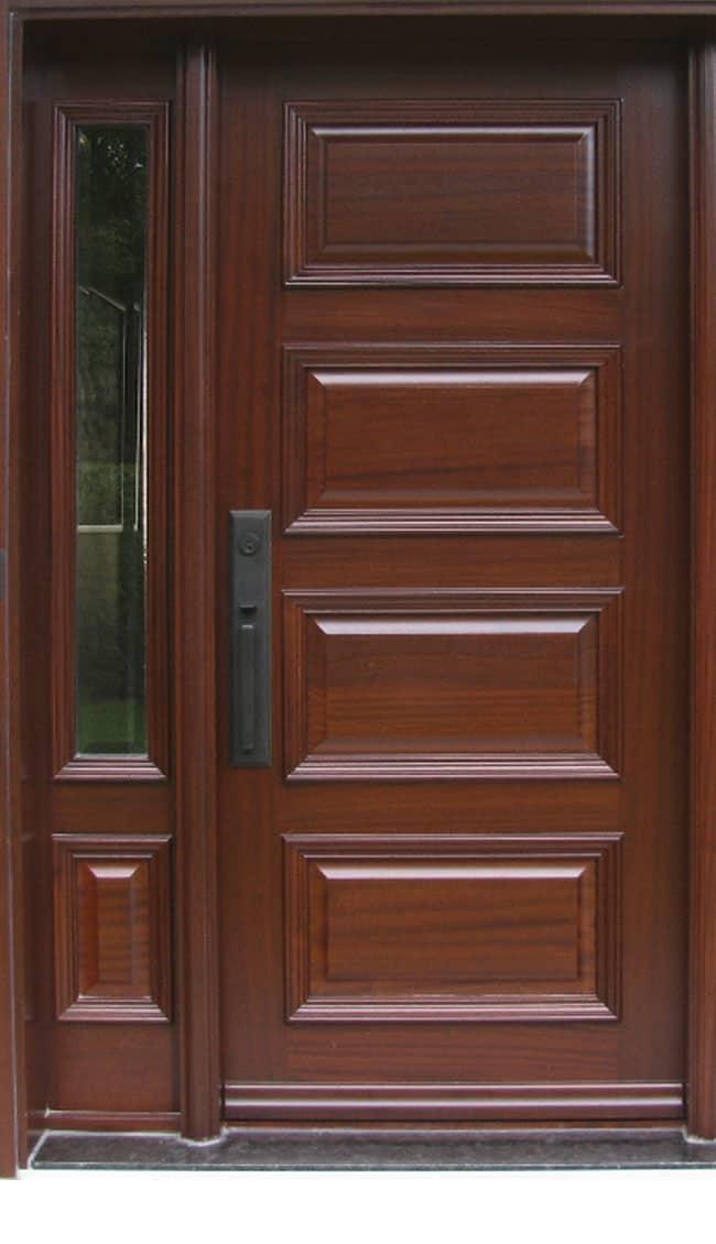 Portes de bois ext rieures archives michelena - Porte en bois ...