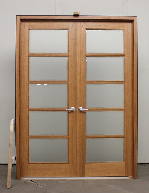 002299 Porte Bois Interieure Interior Wood Door