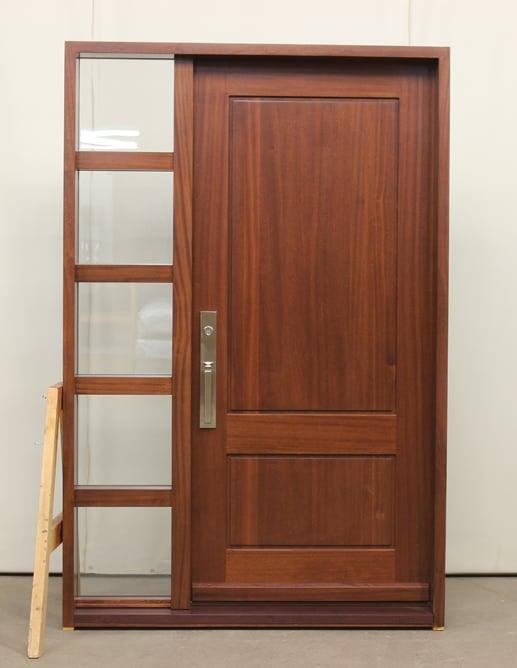Beau 002341 A Porte Bois Exterieure Exterior Wood Door