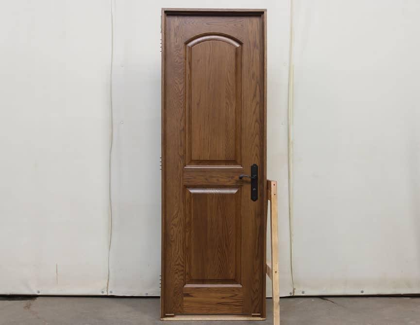 Porte intérieure en Chêne blanc massif a grain régulier