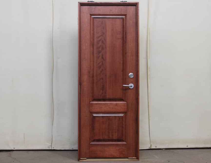 Charmant 002502 1 Porte Bois Interieure Interior Wood Door