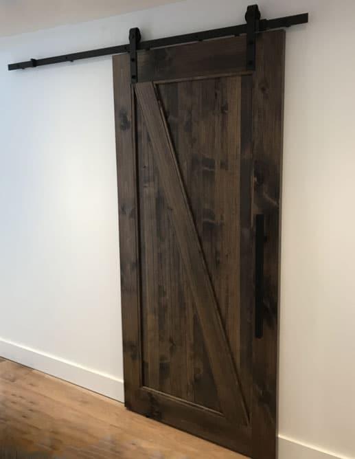 Porte Intérieur Pin Noueux Rustique