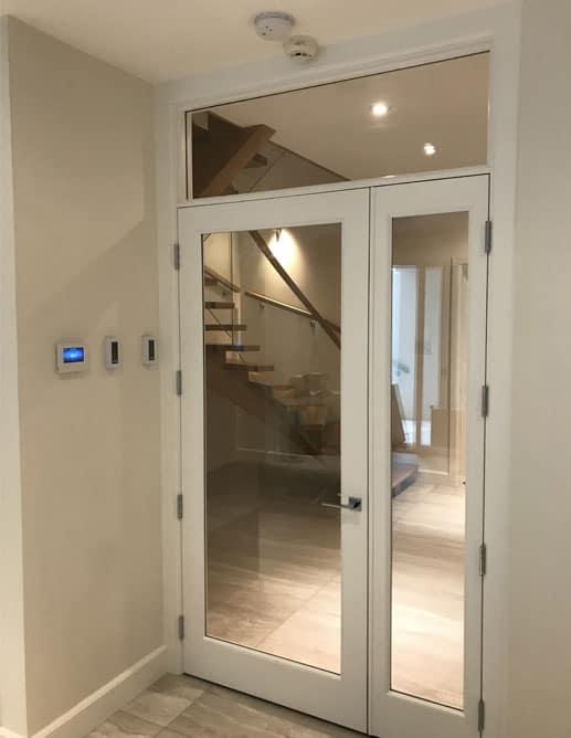 002555 2 porte bois int rieure interior wood door michelena. Black Bedroom Furniture Sets. Home Design Ideas
