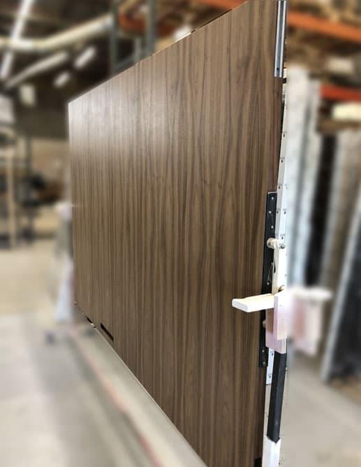 Porte Intérieure Surdimensionné Pocket Door Poignée Encastrée